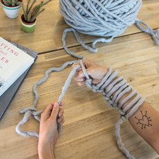 An Introduction To Arm Knitting Loveknitting