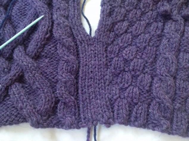 how to work mattress stitch with Amy Kaspar