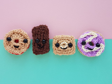 7f58fcde8 Sweet makes  knit donuts   crochet biscuits