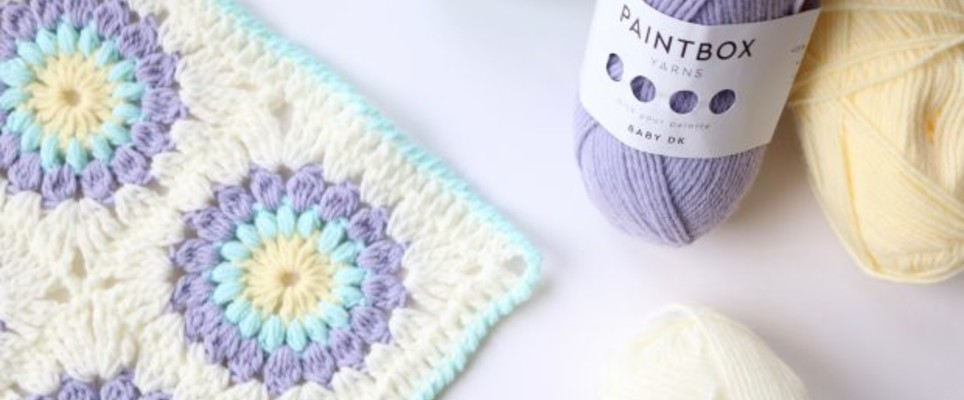 Bella Coco's Sunburst Blanket tutorial | LoveCrafts, LoveKnitting's