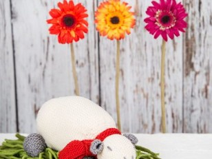 Milly The Sheep Toy in MillaMia Naturally Soft Merino