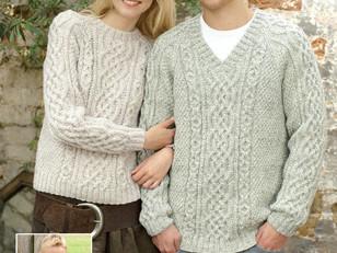 d3588f9fa6ac9 Top 5 Free Aran Jumper Knitting Patterns for Men