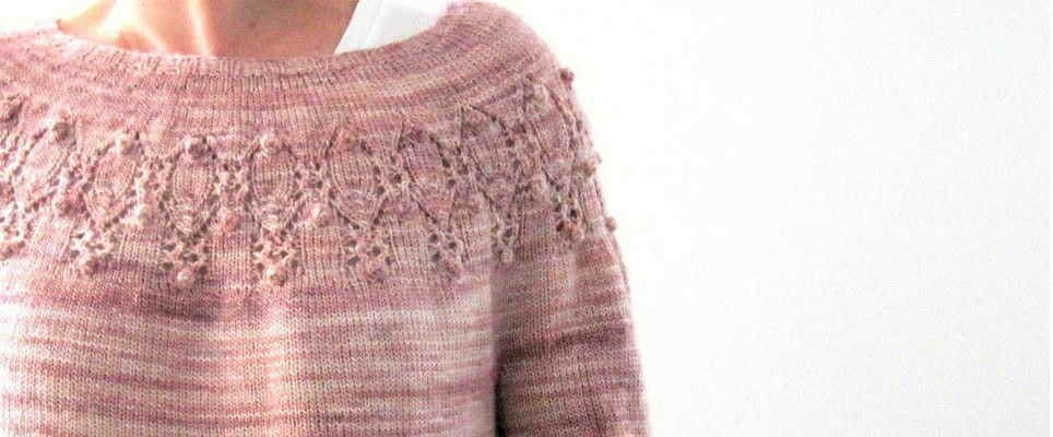 a2b56fa36 Top down knitting is the modern method of knitting apparel in one piece  from the top down, rather than creating separate panels and sewing together.