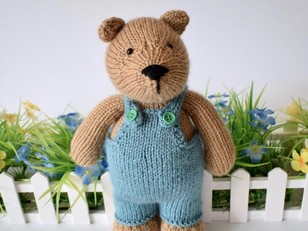 8ae932de Teddy bear patterns: Our top 10 | LoveCrafts, LoveKnitting's New Home