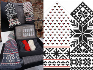Knit Like a Latvian Knitting Kit - Latvian Grey