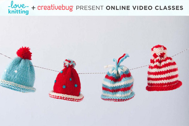 knitted hat bunting