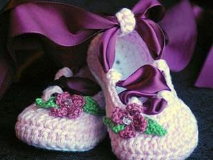 Baby Ballerina Booties