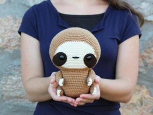 Cuddle-Sized Zippy the Sloth