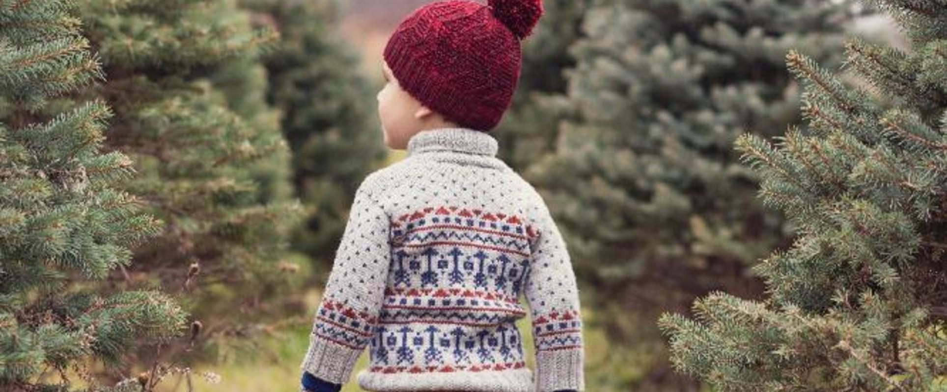 10 Christmas Sweater Knitting Patterns Loveknitting