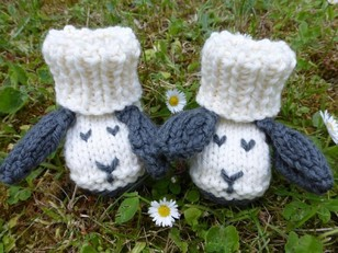 Little Sheep Booties for Babies