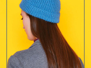 Daylight Beanie in Paintbox Yarns Simply DK
