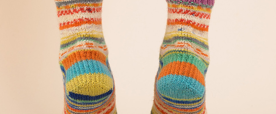 3 Ways To Knit A Sock Heel Loveknitting