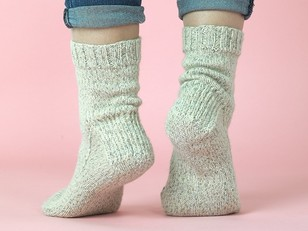 The Essential Socks in Paintbox Yarns Socks - Downloadable PDF