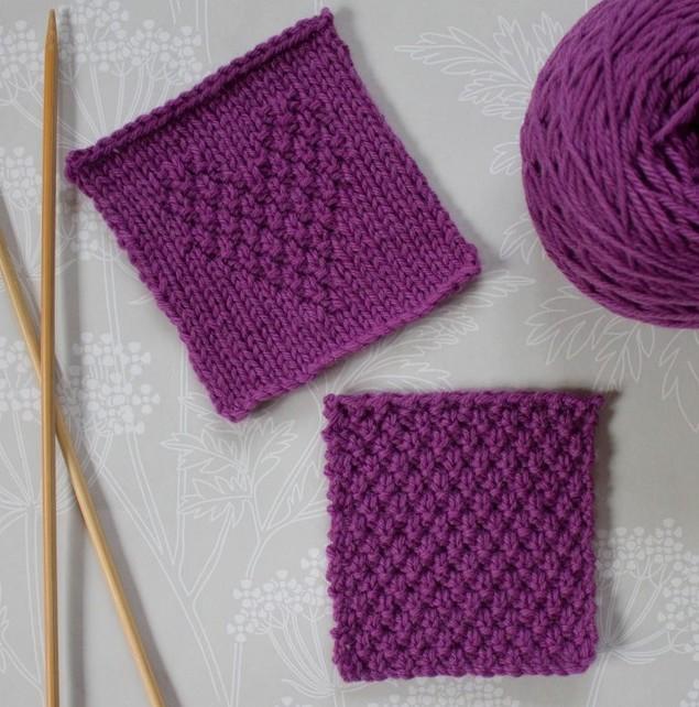 Popular Knitting Stitches With Tutorials Loveknitting
