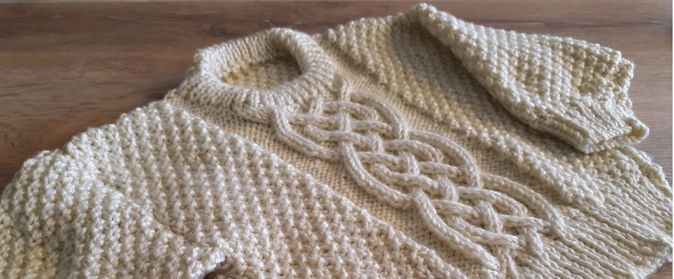 6864beb746d2 Aran jumpers are one of the most sought-after knitting patterns