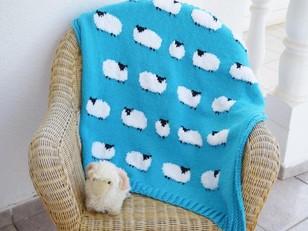Flock of Sheep Blanket