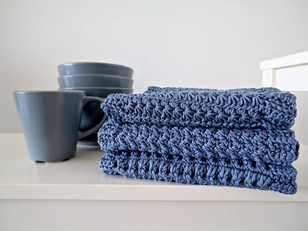 Gourmet Crochet Dishcloth Set