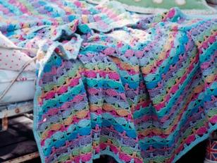 Picnic Blanket in Rowan Handknit Cotton